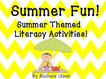 Summer Fun!  Summer Themed Literacy Activities