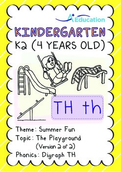 Summer Fun - The Playground (II): Digraph TH - K2 (4 years old)