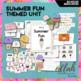 Summer Fun Themed Preschool Lesson Plans (one week curriculum)