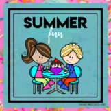 Summer Fun Themed Unit-Preschool Lesson Plans  - Distance