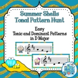 Summer Fun Tonal Pattern Hunt - D Major