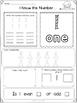 Summer Fun With Kindergarten Math Numbers 1- 10 freebie