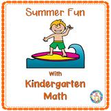 Summer Fun With Kindergarten Math Numbers 1- 20