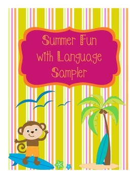 Summer Fun With Language Sampler