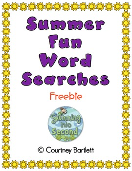 Summer Fun Word Searches