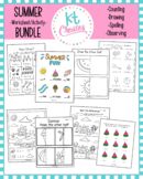 Summer Fun Worksheets Bundle! No Prep!