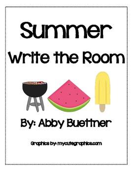 Summer Fun Write the Room