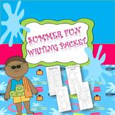 Summer Fun Writing