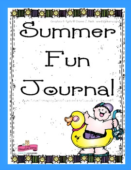 Summer Fun Writing Journal Prompts