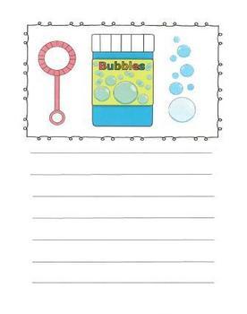 Summer Fun Writing Journal