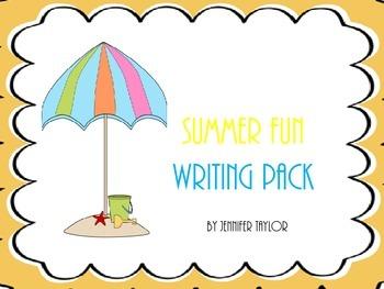 Summer Fun Writing Pack
