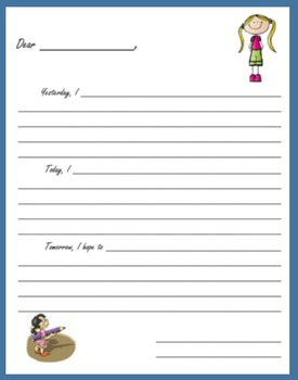 Summer Fun:  Writing Personal Letters (51 pages)