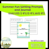 Summer Fun Writing Prompts and Journal- ESY and Writing Practice!