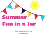 Summer Fun in a Jar