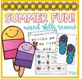 Summer Fun! (mixed math/ELA skills review)