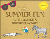Summer Fun Worksheets with Animals Through the Alphabet