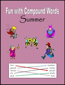 Summer Fun with Compound Words