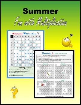Summer Fun with Multiplication (100 pages)