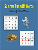 Summer Fun with Words (88 pages) - Independent Work Packet