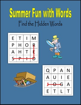 Summer Fun with Words