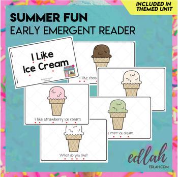 Summer Fun/Ice Cream Early Emergent Reader