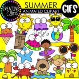 Summer GIFs: Animated Clipart (Creative Clips GIFs)