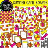 Summer Game Board Clipart {Summer Clipart}
