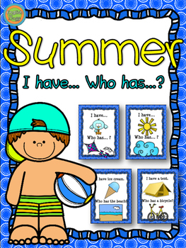 "Summer - Game ""I have... Who has...?"""