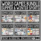 Winter Games 2018 Athlete Research Pyeongchang Winter Spor