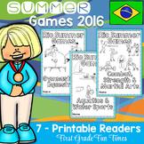 Olympics, Summer Olympics, Summer Games 2016 Printable Readers