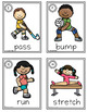 Summer Games 2016 Write the Room Verbs