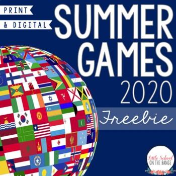 Summer Olympics 2020 FREEBIE
