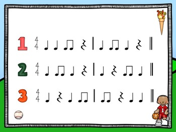 Summer Games  - A Listening Game to Practice Quarter Rests