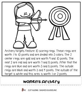 Summer Games Medal Flipbook