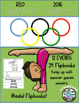 Summer Games Medal Flipbook