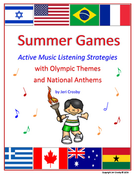 Summer Games - Music Listening and Movement Activities