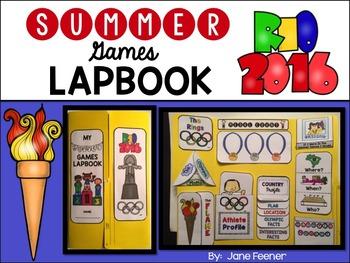 Rio Summer Games Lapbook - Olympics 2016