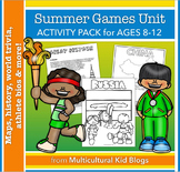 Summer Games Unit Activity Pack {Ages 8-12}