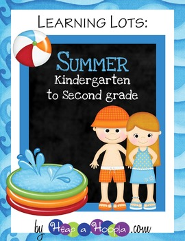 Summer Games and Activities for Kindergarten, First and Second Grades