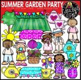 Summer Garden Party Clip Art Set {Educlips Clipart}