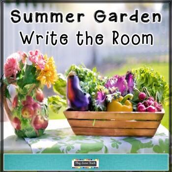 Summer Garden Write the Room