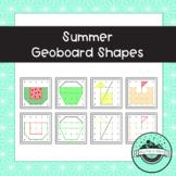 Summer Geoboard Task Cards