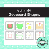 Summer Geoboard Task Cards