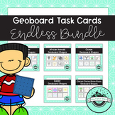 Geoboard Task Cards ENDLESS Bundle - 25 Themed Ssets Currently Included!