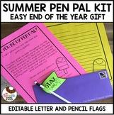 Summer Gift Pen Pal Kit - Editable