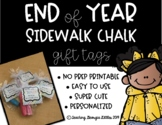 """Summer Gift Tag: Hope Your Summer is """"Chalk"""" Full of Fun!"""