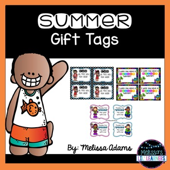 Summer Gift Tags