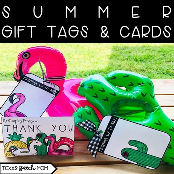 Summer Gift Tags & Cards (Dollar Spot Pool Floats)