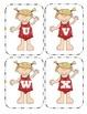 Summer Girl Capital Alphabet Flash Cards