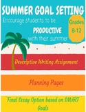 Summer Goal Setting for Students